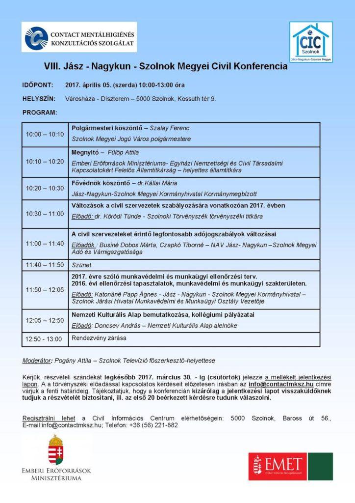 2017.04.05. JNSZ Megyei Civil Konferencia