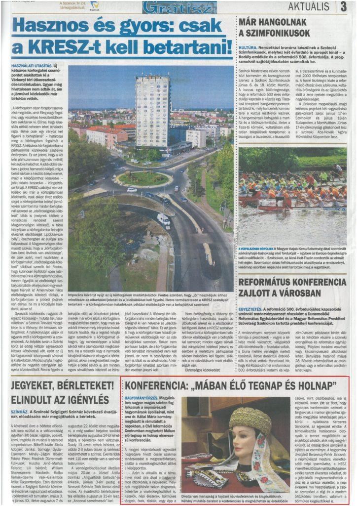 2017.05.18. Új Néplap-Grátisz Mában élő tegnap és holnap